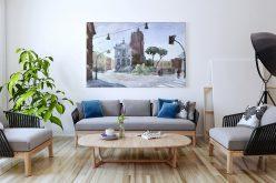 Obrazy napłótnie – przepis nazupełnie nowy wystrój wnętrza