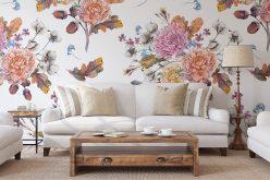 Tapeta wkwiaty – bogactwo wzorów iaranżacyjnych możliwości