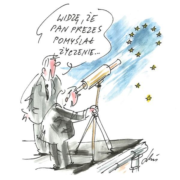 Rysunek G. Bąkowskiego z nr 34/2018
