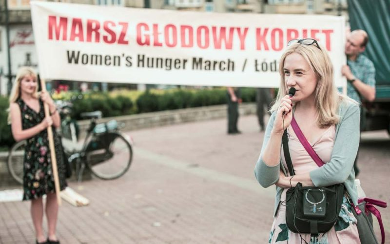 Łódź tomiasto kobiet