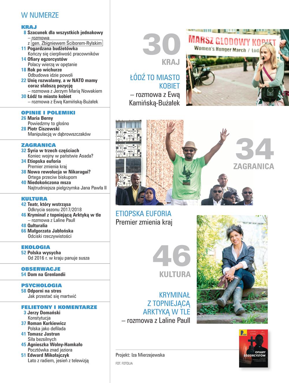 spis treści numeru 33/2018