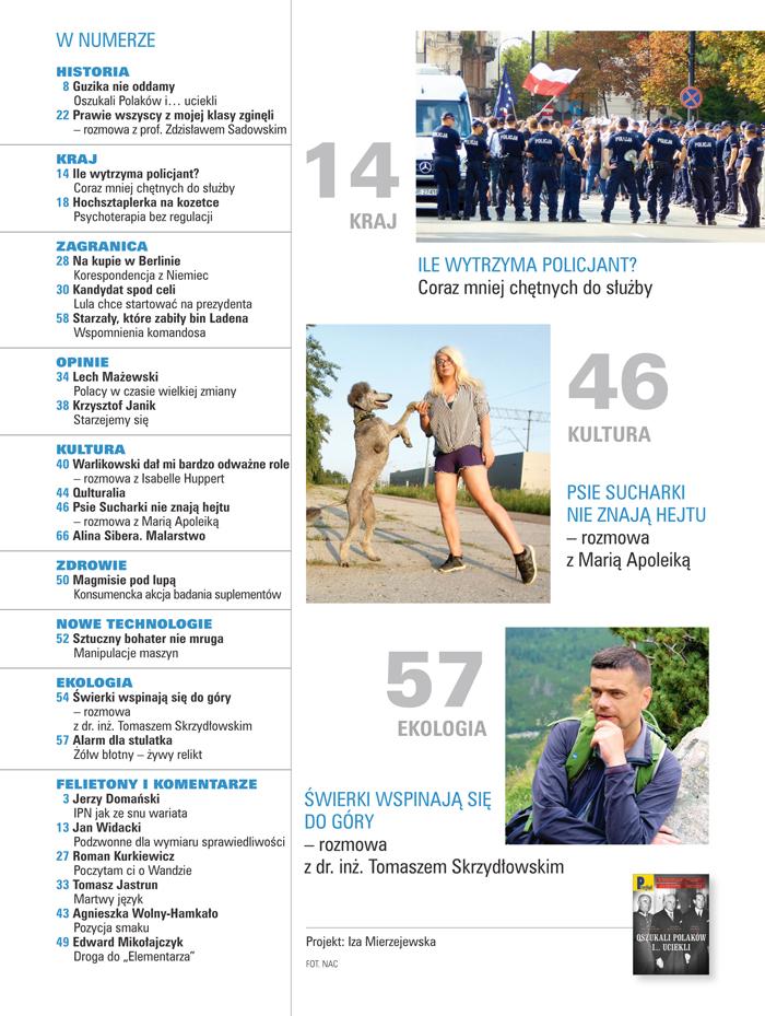 spis treści numeru 35/2018