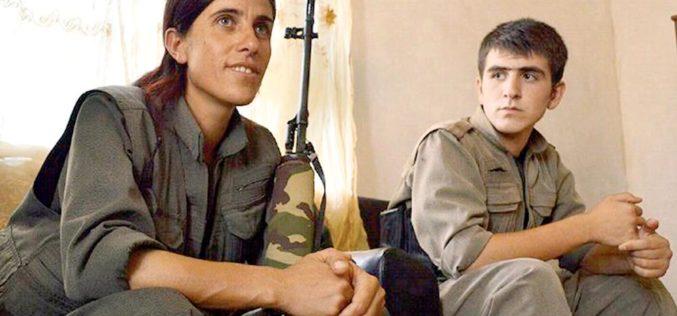 Kurdyjki walczą