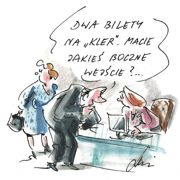 Rysunek G. Bąkowskiego z nr 39/2018