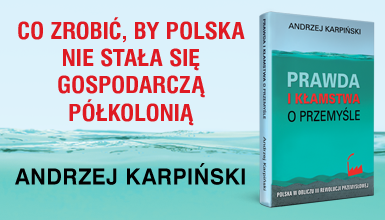 "Okładka książki ""Prawda i kłamstwa o przemyśle"""