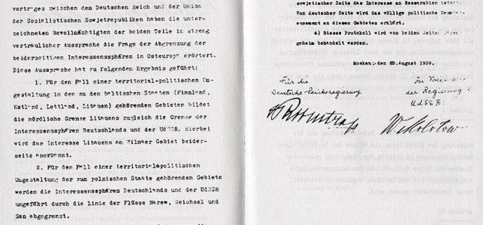 Czynapaść naPolskę umożliwił dopiero pakt Ribbentrop-Mołotow?