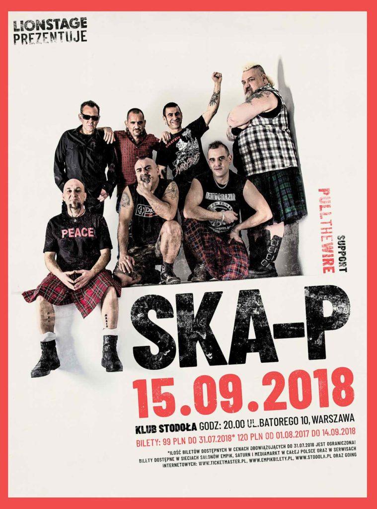 Plakat koncertu Ska-P