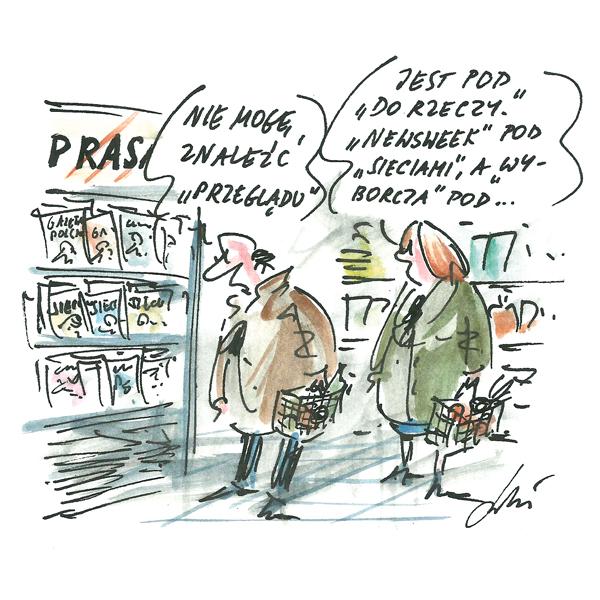 Rysunek G. Bąkowskiego z nr 51/2018