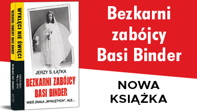 """Okładka książki """"Bezkarni zabójcy Basi Binder"""""""