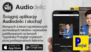PRZEGLĄD w aplikacji Audiodelic