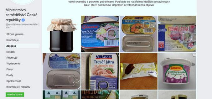 Czechy walczą zpolską żywnością