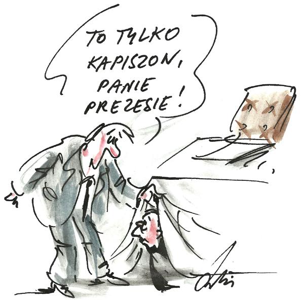 Rysunek G. Bąkowskiego z nr 7/2019