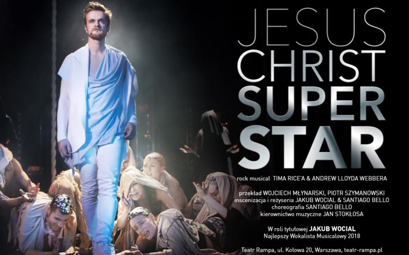 "Legendarny ""Jesus Christ Superstar"" wTeatrze Rampa"