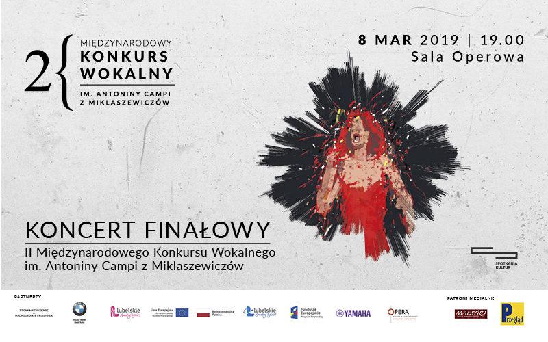 II Międzynarodowy Konkurs Wokalny im.Antoniny Campi zMiklaszewiczów