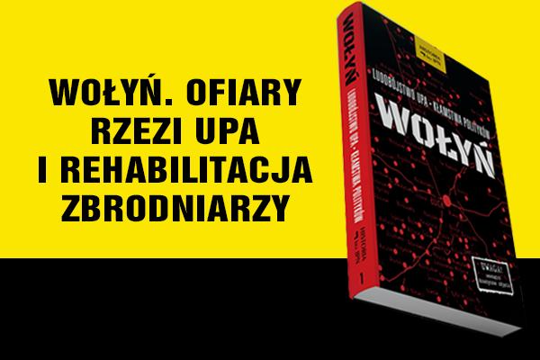 """Okładka książki """"Wołyń"""""""