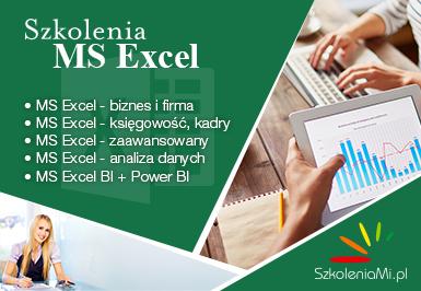Szkolenia Microsoft Excel - SzkoleniaMi.pl