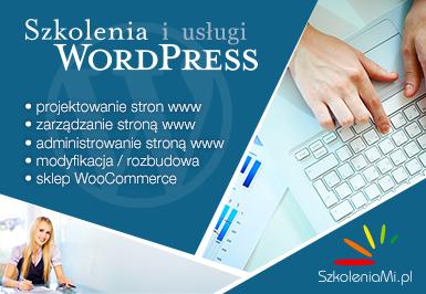 Szkolenia WordPress - SzkoleniaMi.pl