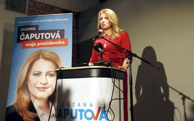 Słowacy stawiają naSłowaczkę