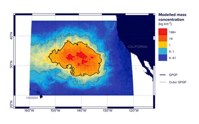 Morze śmieci pohoryzont