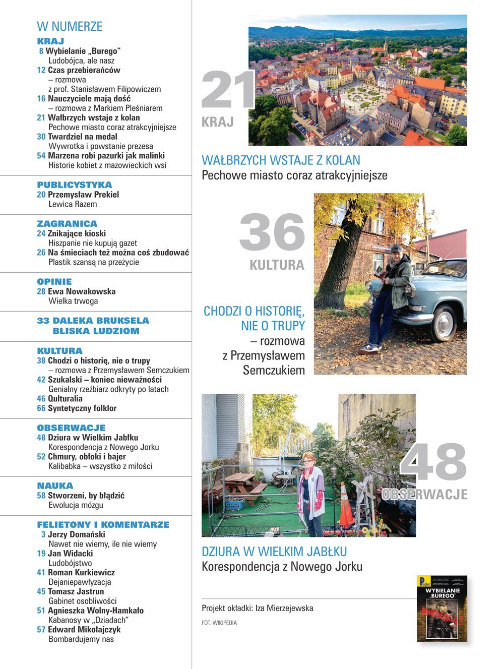 spis treści numeru 12/2019