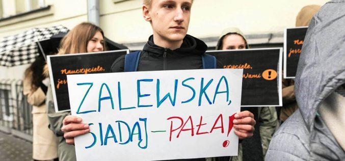 Strajk nauczycieli – wieści zpola bitwy