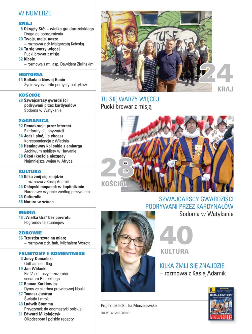 spis treści numeru 17-18/2019