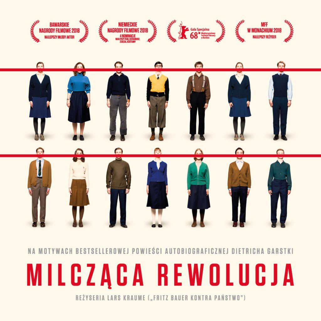 """Plakat filmu """"Milcząca rewolucja"""""""