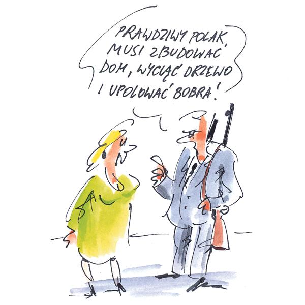 Rysunek G. Bąkowskiego z nr 25/2019