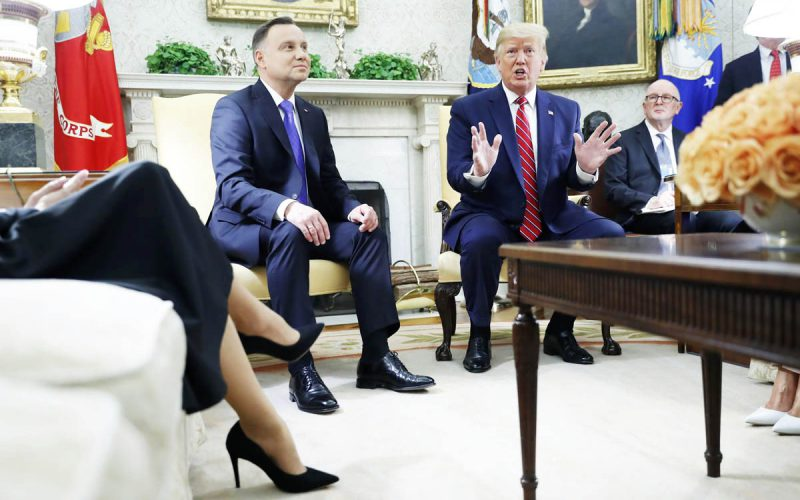 Prezydent nazakupach