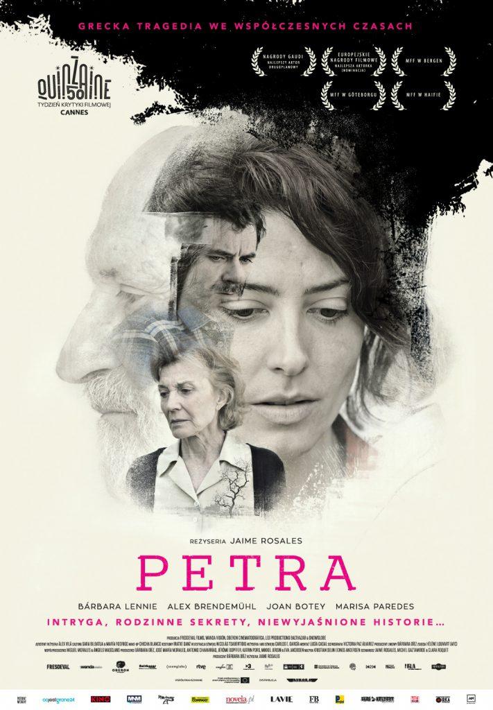 """Plakat filmu """"Petra"""""""