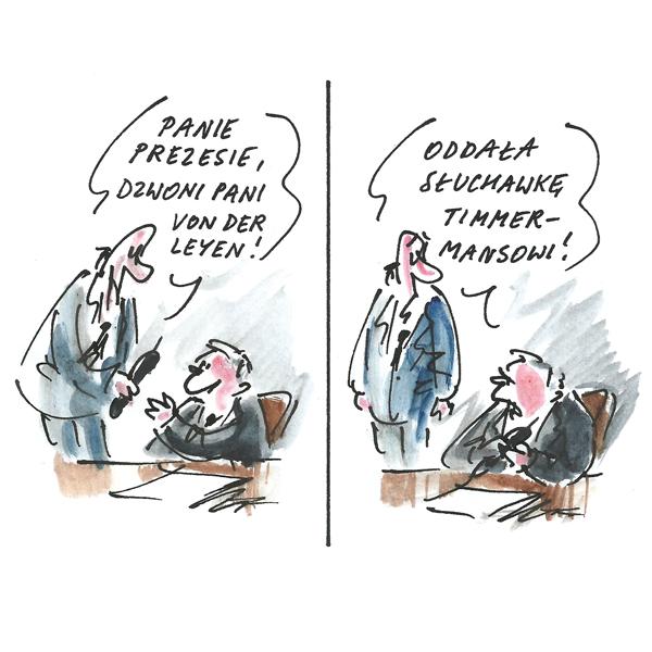 Rysunek G. Bąkowskiego z nr 29/2019