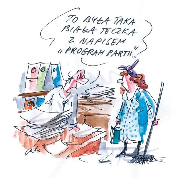 Rysunek G. Bąkowskiego z nr 30/2019