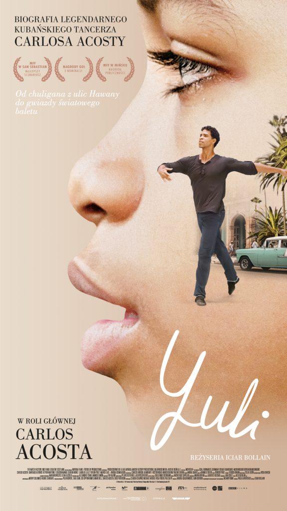 """Plakat dofilmu """"Yuli"""""""