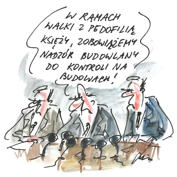 Rysunek G. Bąkowskiego z nr 34/2019