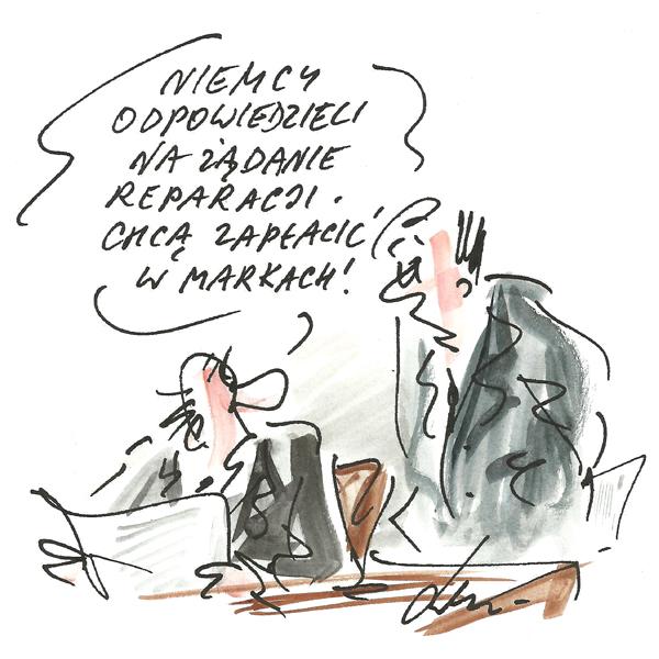 Rysunek G. Bąkowskiego z nr 35/2019