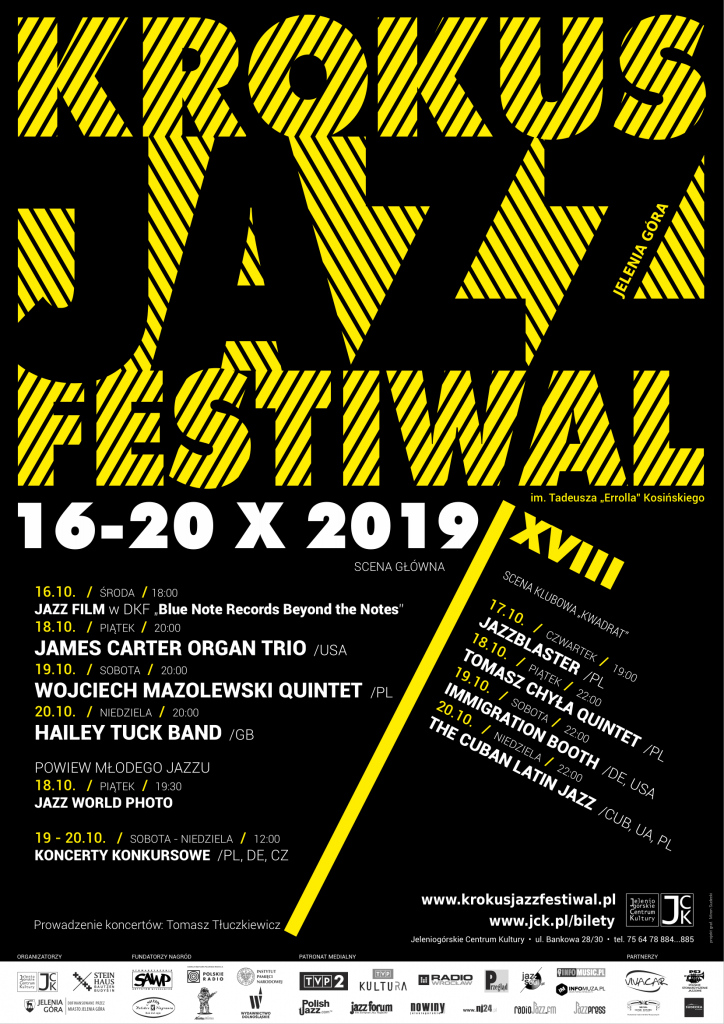 Krokus Jazz Festiwal 2019 - plakat