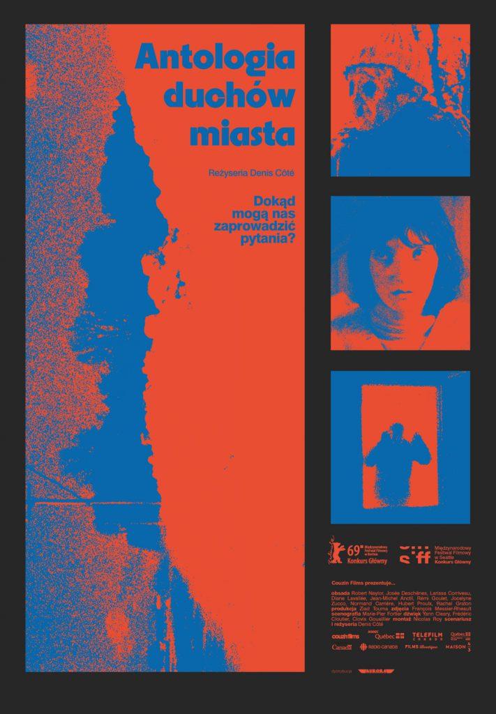 "Plakat filmu ""Antologia duchów miasta"""