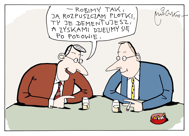 Rysunek A. Mleczki z PRZEGLĄDU nr 47/2019