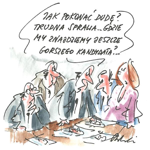 Rysunek G. Bąkowskiego z nr 46/2019