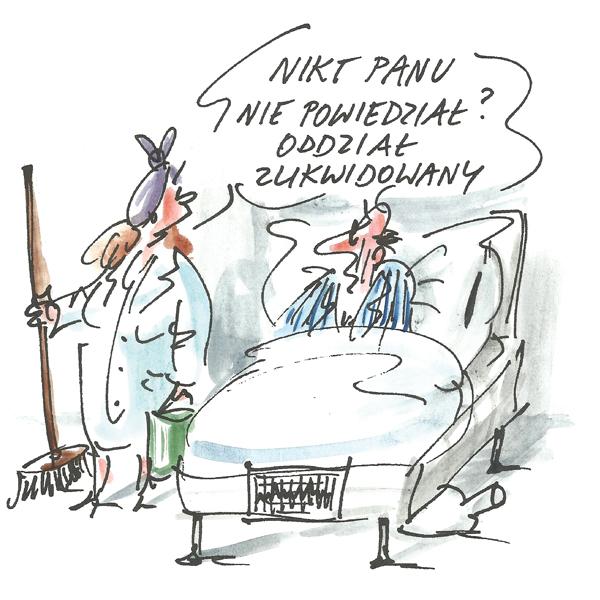 Rysunek G. Bąkowskiego z nr 47/2019