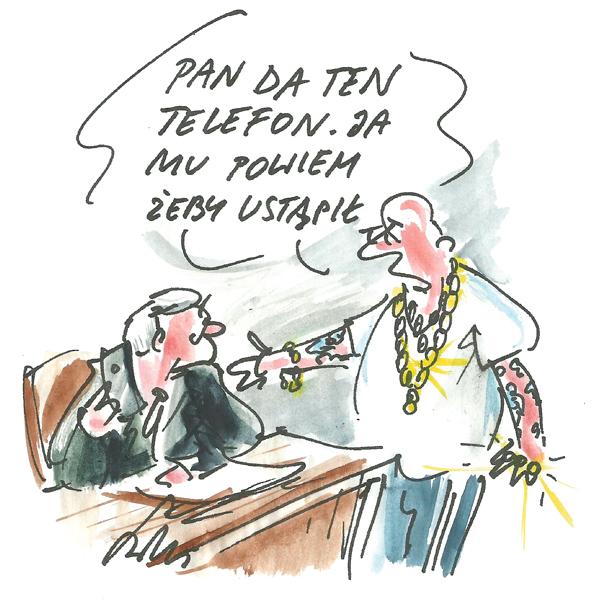 Rysunek G. Bąkowskiego z nr 50/2019