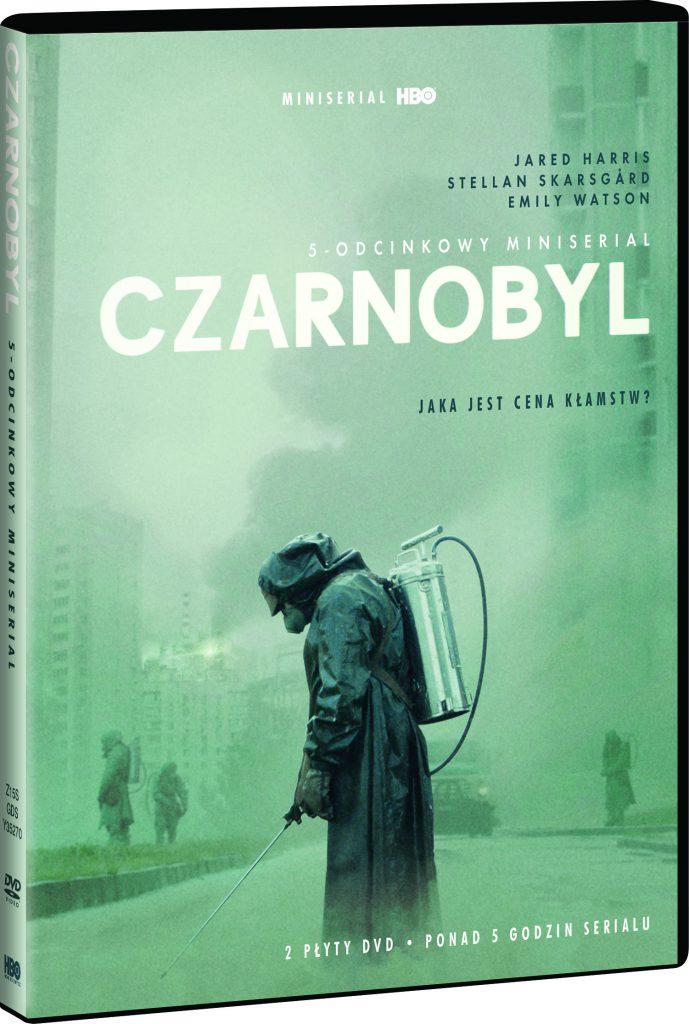 "Okładka płyty zserialem ""Czarnobyl"""