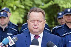 Pożegnanie ministra odkonfetti