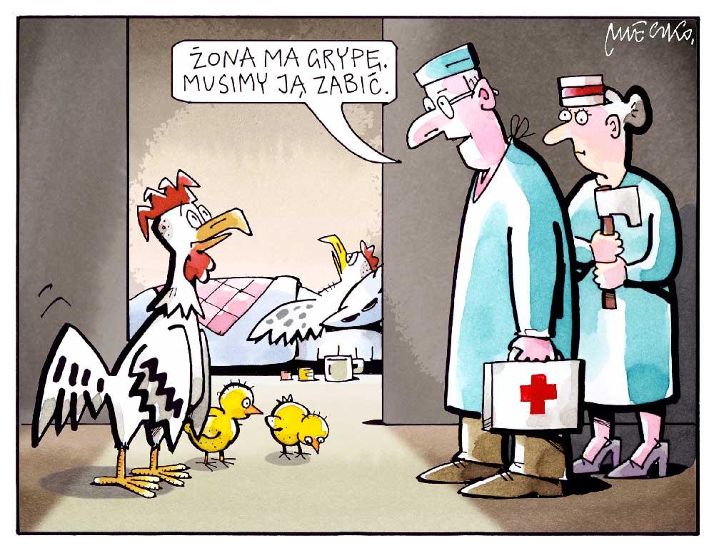 Rysunek A. Mleczki z PRZEGLĄDU nr 14/2020