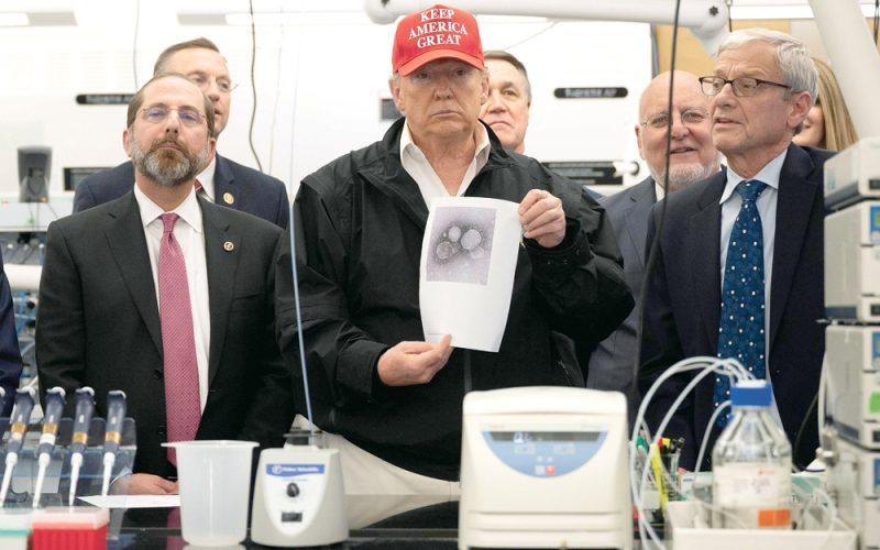 Trump zignorował wirusa zWuhan