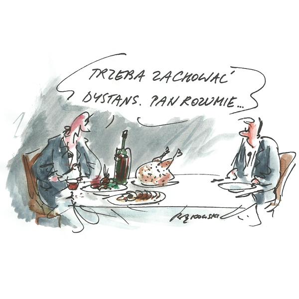 Rysunek G. Bąkowskiego z nr 24/2020