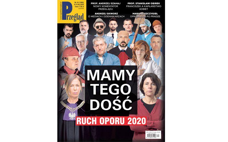 Wnajnowszym (24/2020) numerze Przeglądu polecamy