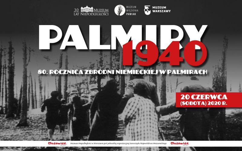 80. rocznica egzekucji Więźniów Pawiaka wPalmirach