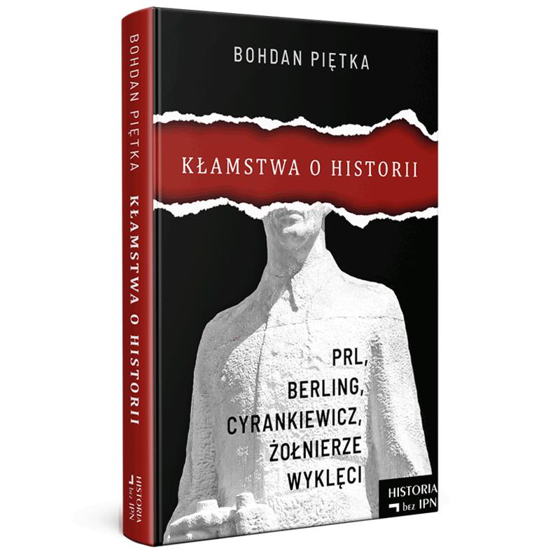 """Okładka książki """"Kłamstwa ohistorii"""""""
