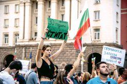 Bułgarzy wyszli naulice